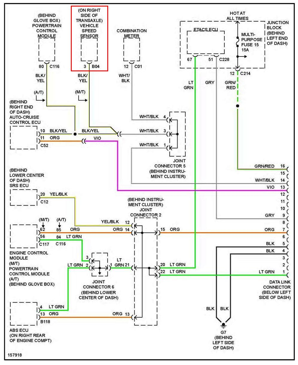 2004 Mitsubishi Endeavor Wiring Diagram Window Best Electrical 2005 Where Do I Find The Vehicle Speed Sensor A On 2001 Awd 08 Subaru Forester Power Relay
