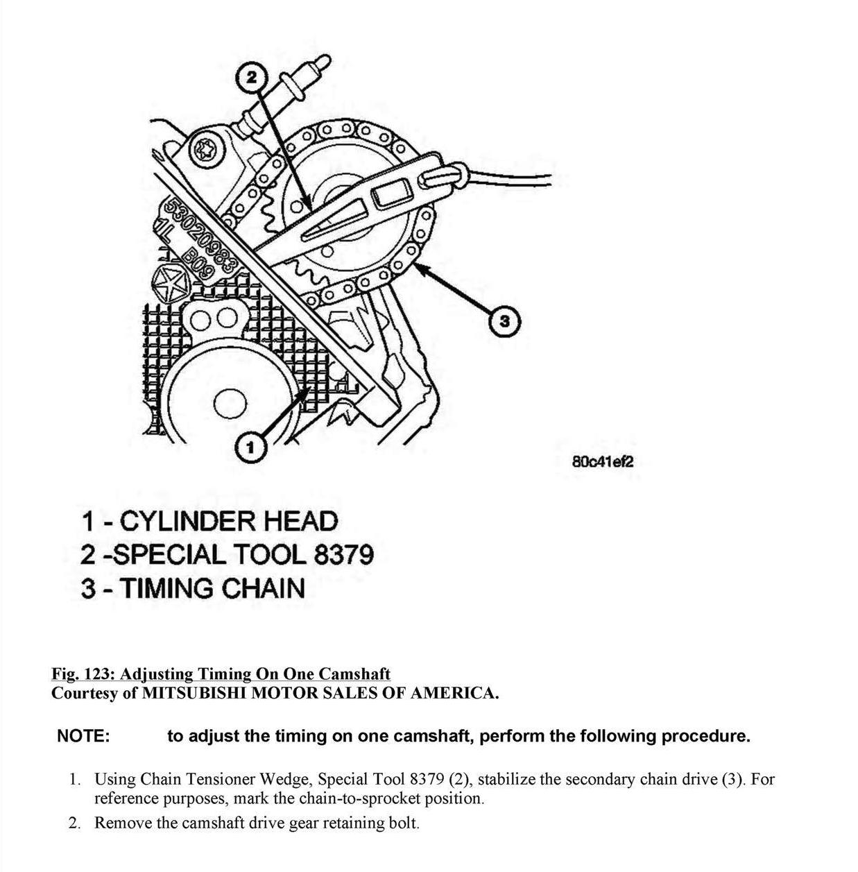 On My 37 V6 Engine There Are 2 Plated Timing Chain Link Covers 2002 Jeep Liberty Diagram As Well Cherokee Water Pump 7 Graphic