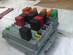 fuse box with relay