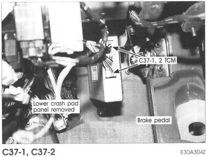 Tcm on 2001 Hyundai Elantra Engine