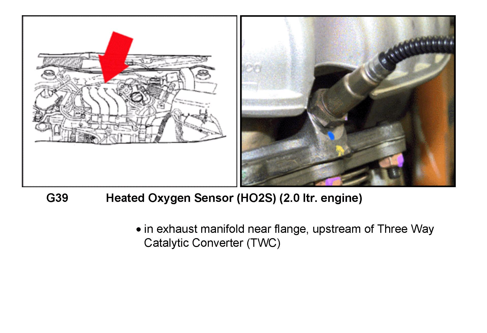 Sesnor on Bank 2 Oxygen Sensor Location