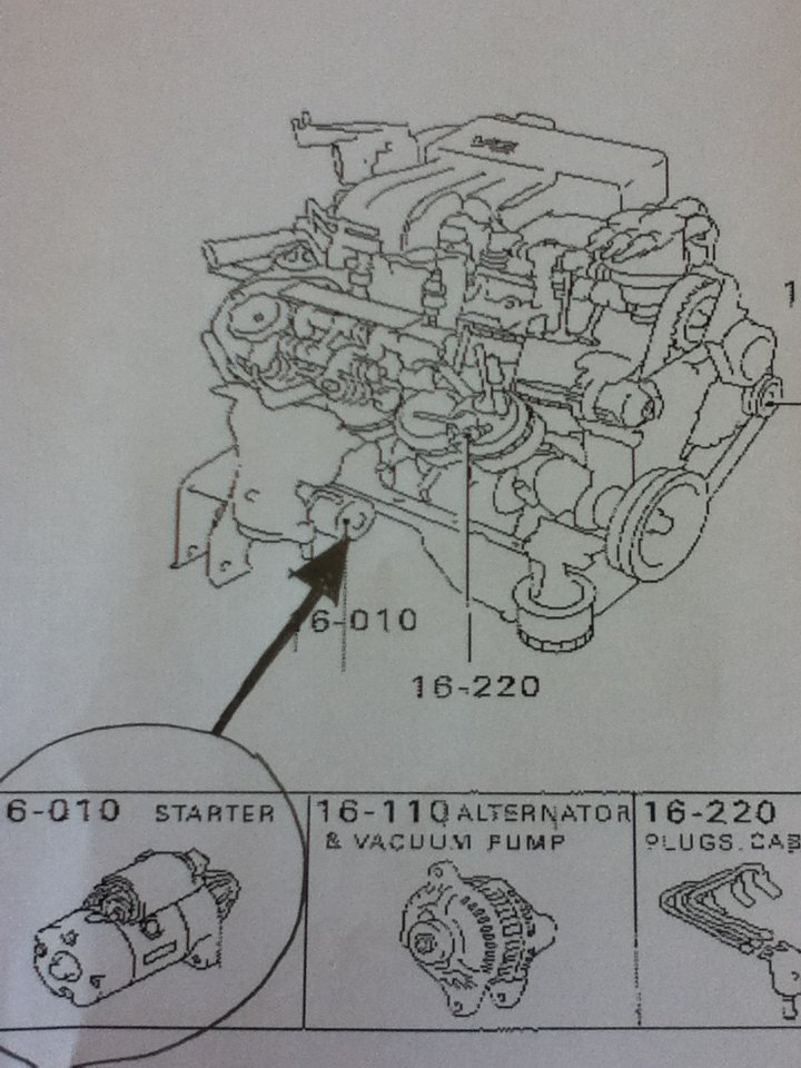 On A 2004 Mitsubishi Galant Gts 3 8l V6  Where Is The Starter Located  I Would Prefer A Clear