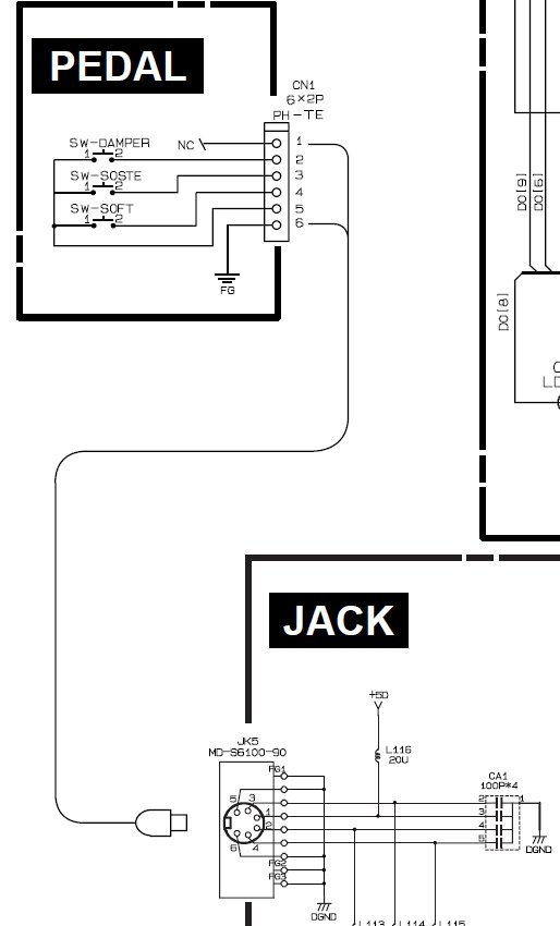 where can i download a circuit diagram shown in particular the rh justanswer com Keyboard Sustain Pedal Polarity Switch Gear On Stage With Casio Keyboard Sustain Pedal