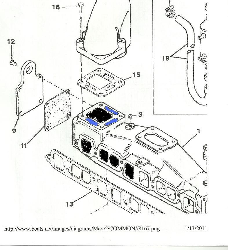 mercruiser 260 engine cooling system  diagram  auto wiring