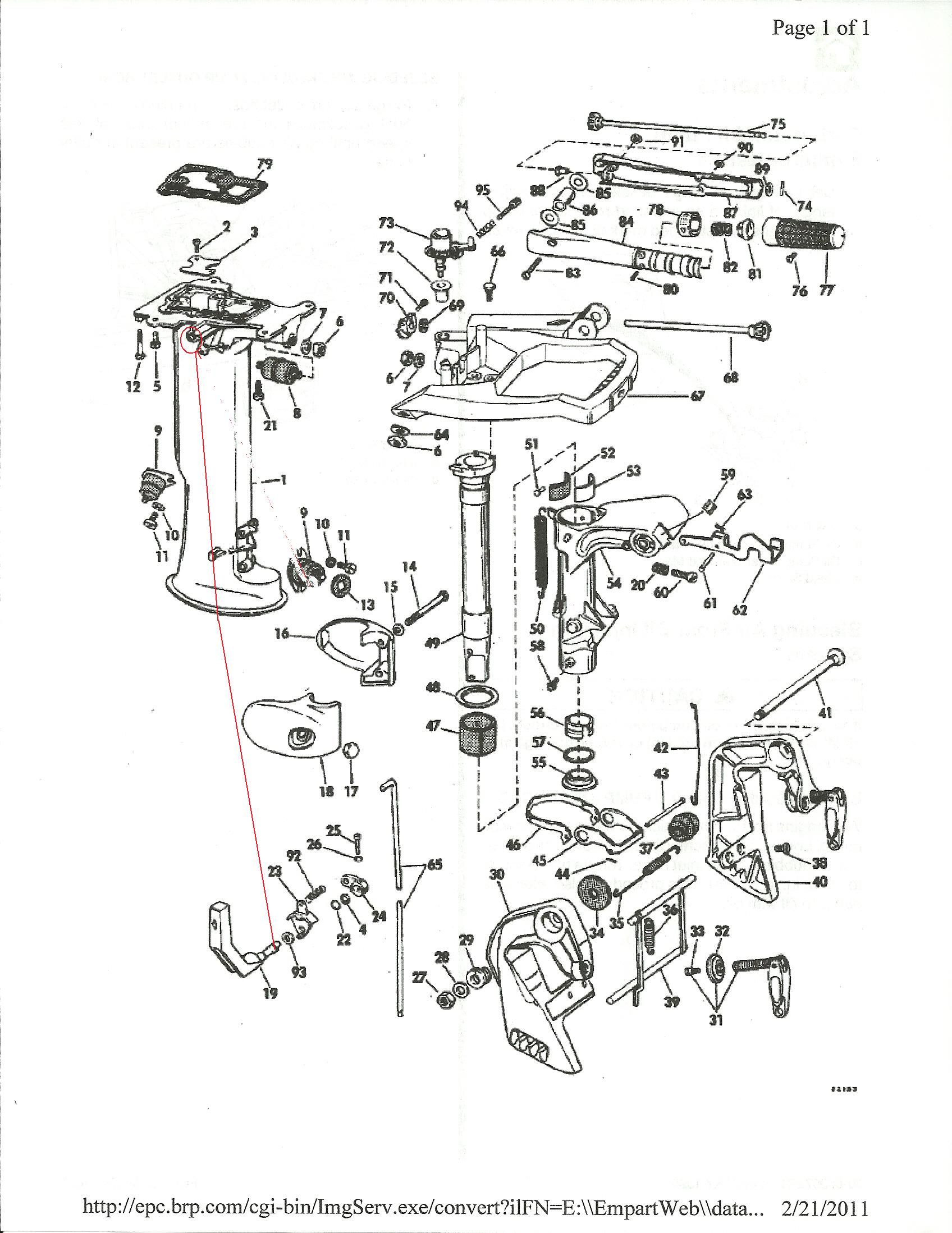 i have a 6hp and the gear selector is extremely difficult to operate rh justanswer com johnson 6 hp owners manual HP Computer Owners Manual