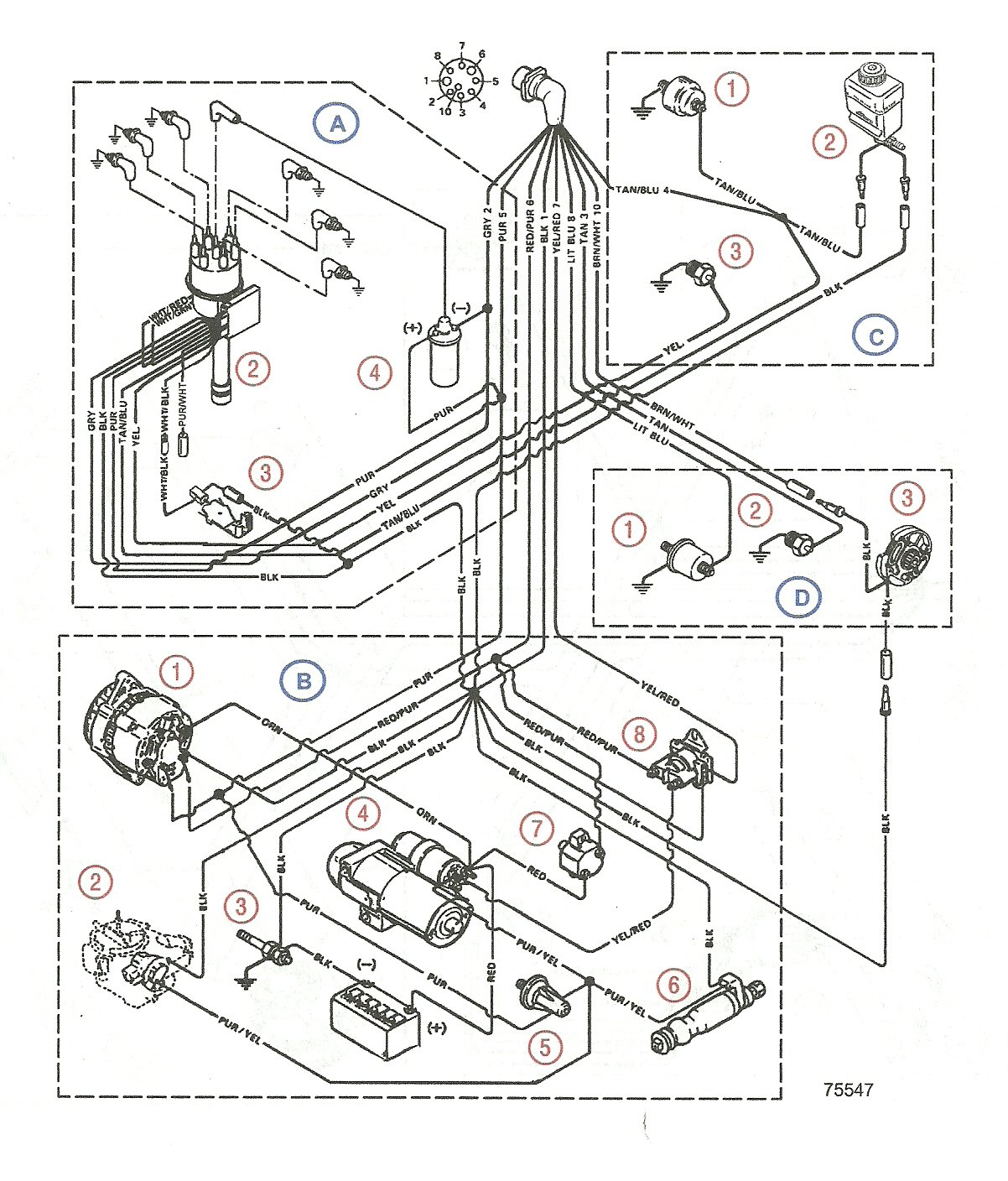 2011 04 02_133428_scan0002 have mercruiser '08, 5 0, 260 hp have lost power to ignition Mercruiser SmartCraft Wiring -Diagram at nearapp.co