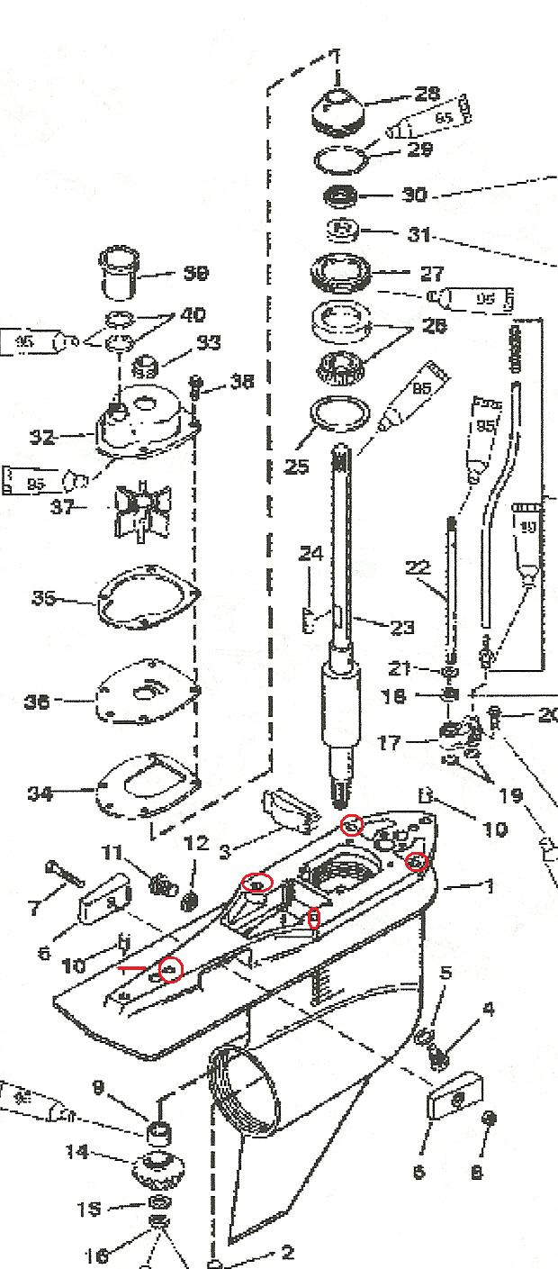 1999 Mercury 40 Hp Outboard Parts Diagram Worksheet And Wiring 75 Optimax How To Replace Water Pump Impeller On A 200hp V6 Blue Rh Justanswer Com Schematic Carburetor
