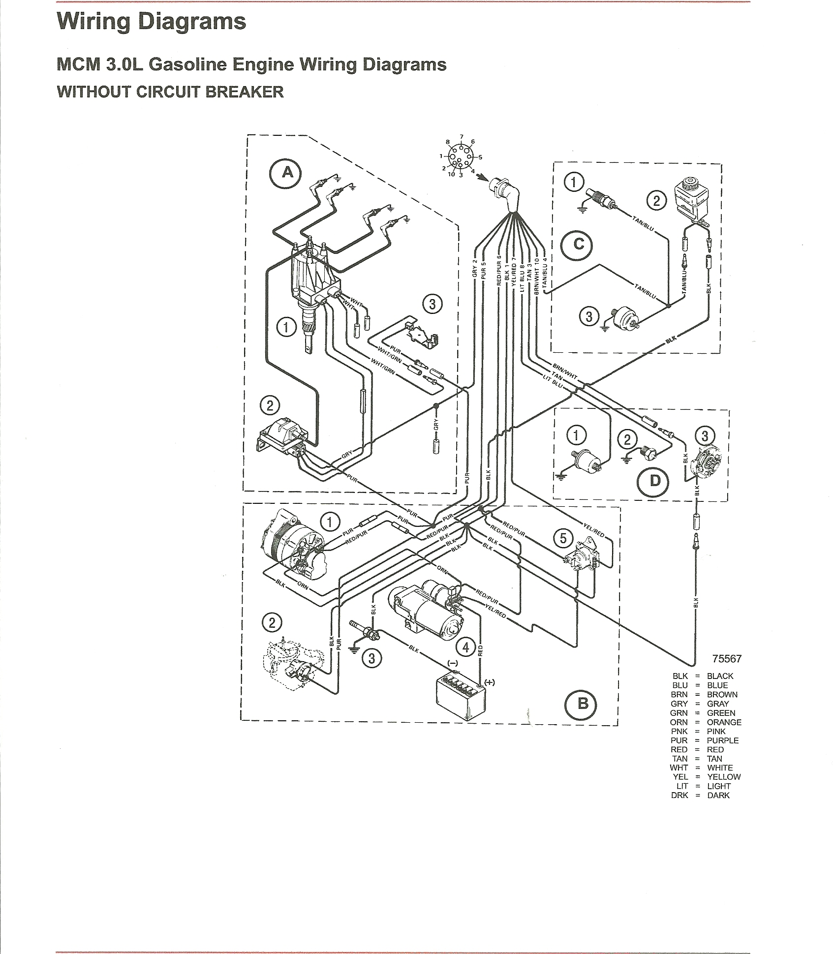 Omc Ignition Wiring Diagram - Wiring Diagram