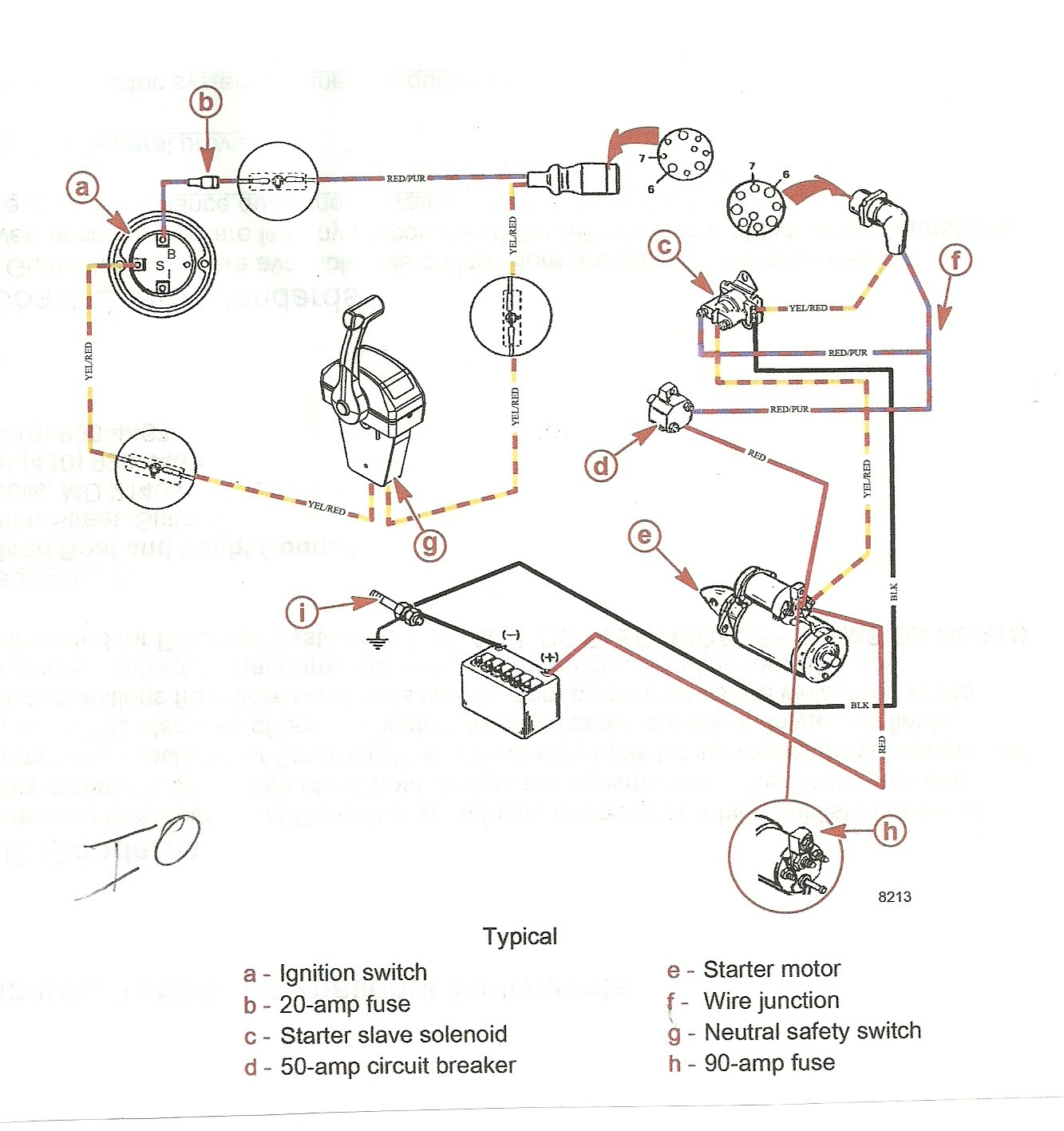 got mercruiser had lots of problems fitted new starter new ... mercruiser ignition switch wiring diagram