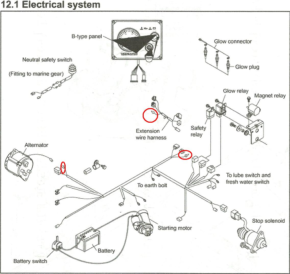 Yanmar 3ym30 Wiring Diagram 27 Images 2011 08 122557 Scan0009 I Have A And The Charge Light Does Not Come On