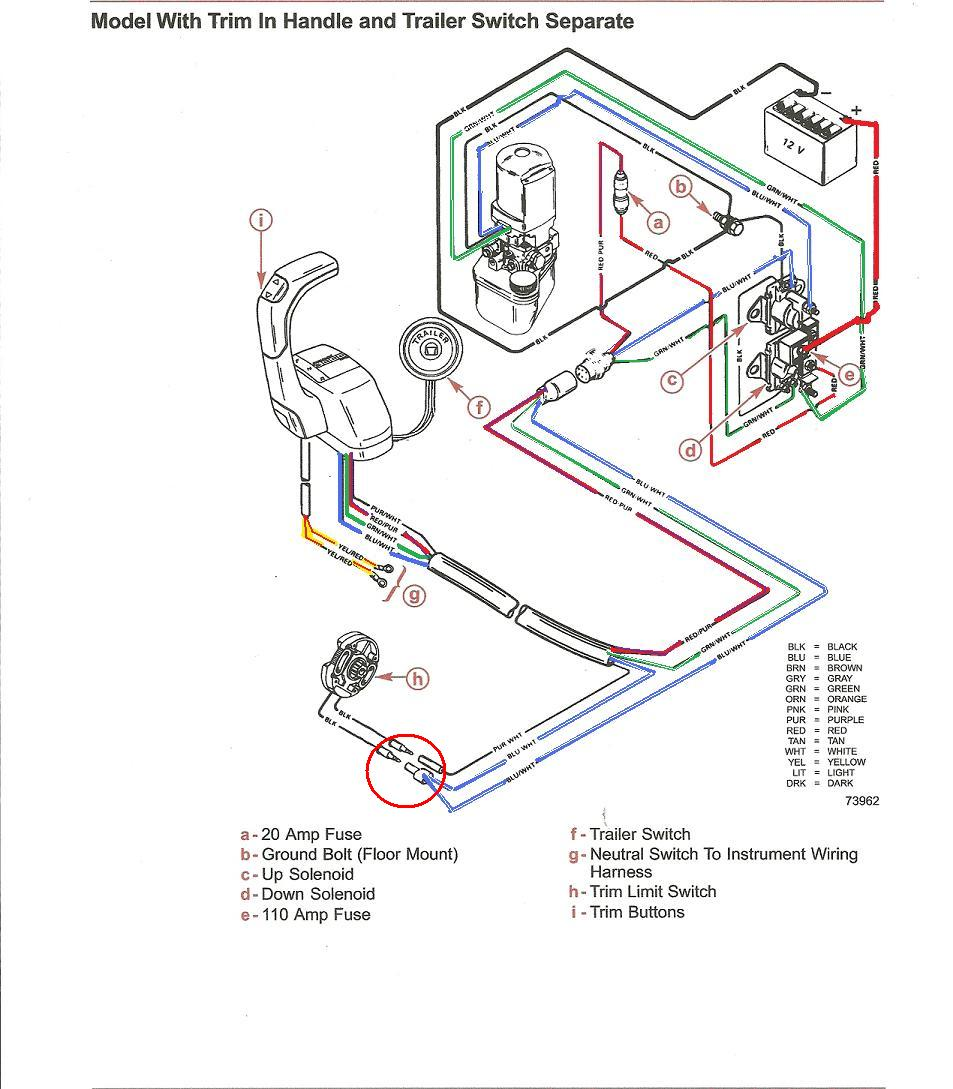 Mercury Power Trim Wiring Diagram Another Blog About Model T 8 Hp Yamaha Get Free Image