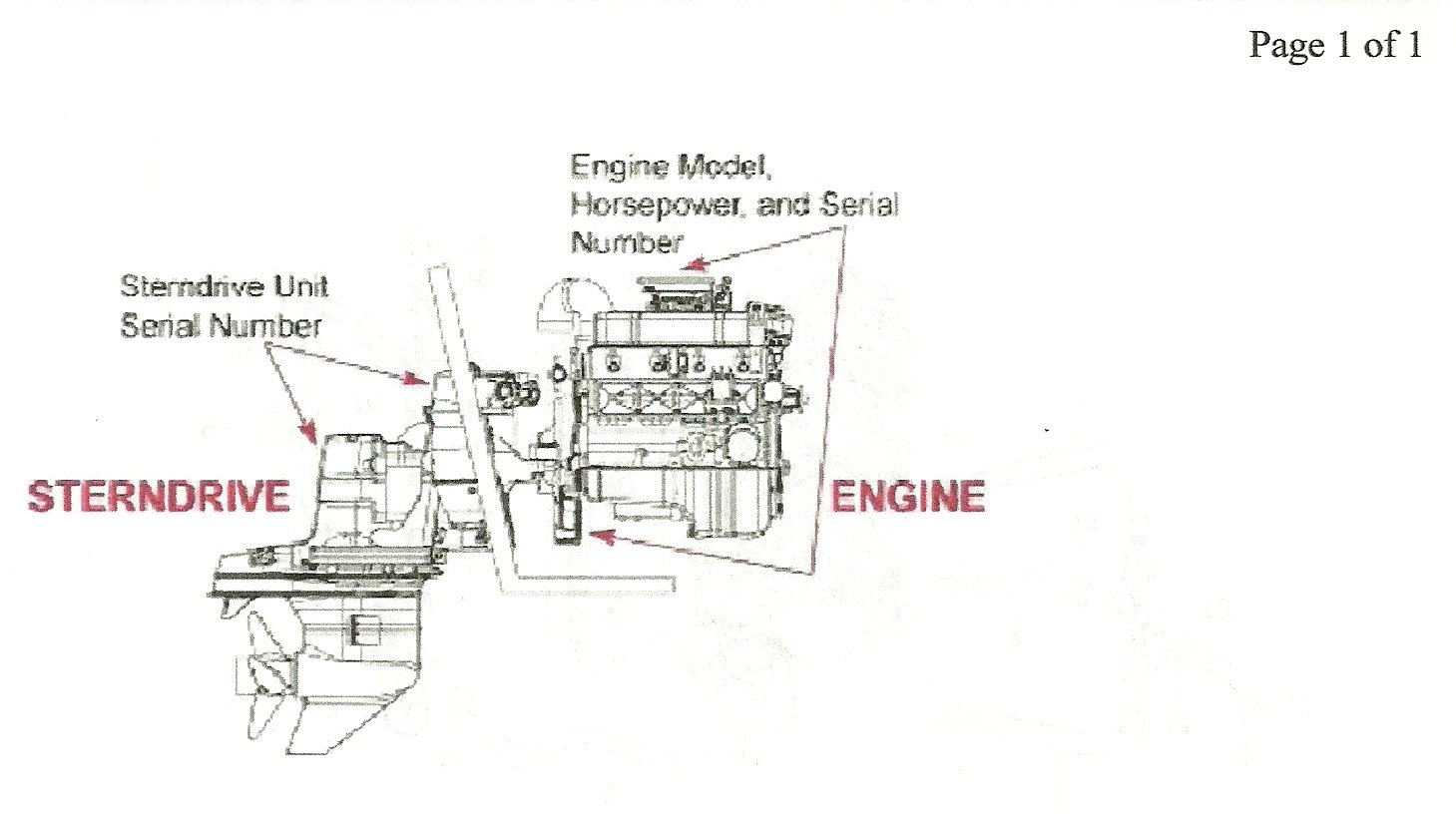 If The Air Cleaner Has A Decal That Says 260 Hp Then I Guess Can 1998 Volvo 5 0 Gl Fuel Filter Location Diagram Shows Where Serial Number Is Xxxxx Graphic
