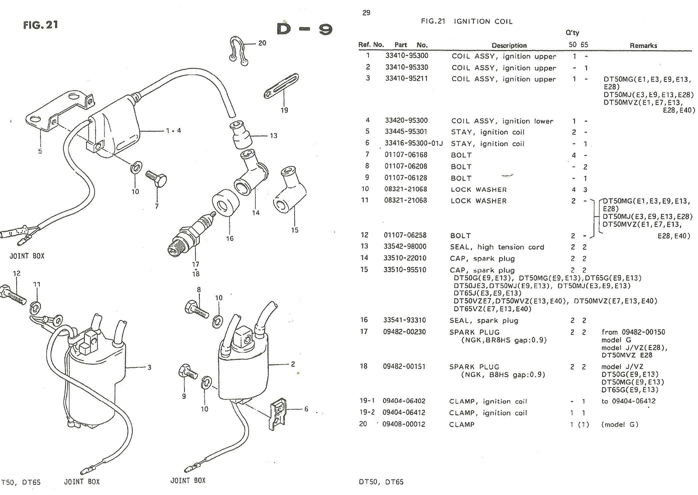 Suzuki Dt 50 Manual Shop Vw Bug Generator Wiring 69 Volkswagen Voltage Regulator