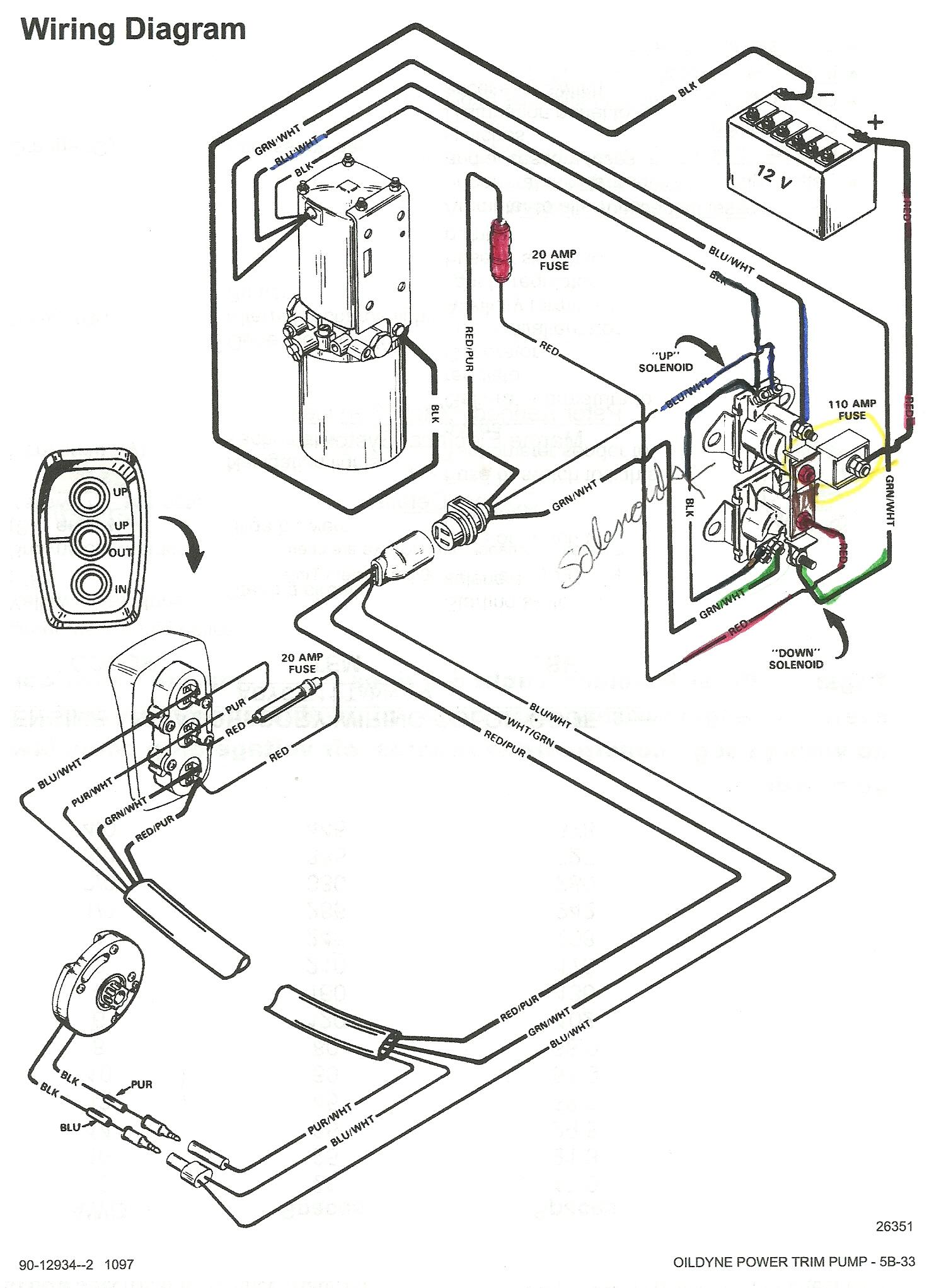 Mercruiser Wiring Schematic | Wiring Diagram on