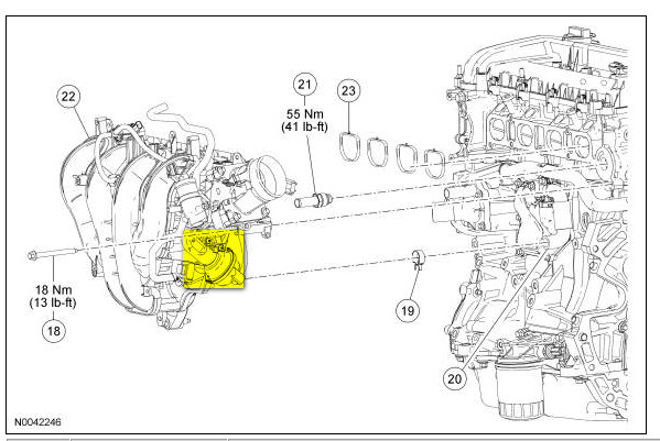 2007 ford focus engine diagram 2 3 liter ford engine