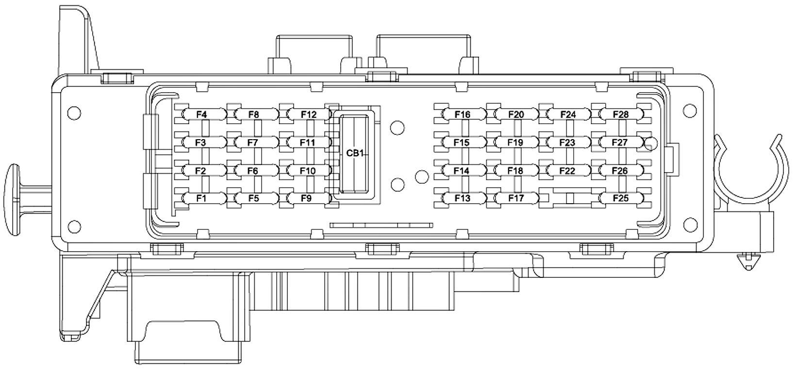 05 mercury mariner fuse box mariner free printable wiring diagrams