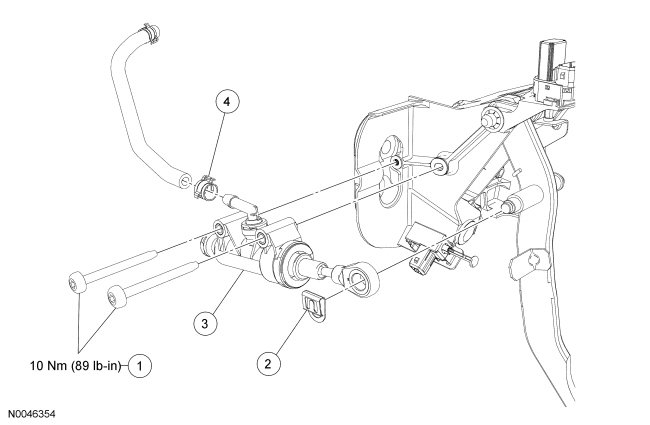 2005 Ford Mustang Clutch Diagram