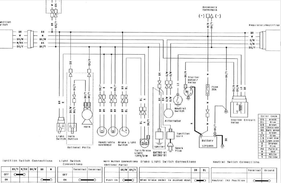 Wiring Diagram For Kawasaki Mule 4010 - Wiring Diagram General