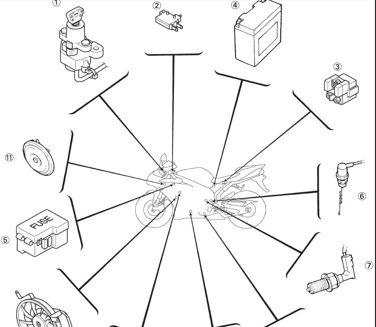 05 Cbr600rr Headlight Wiring Diagram Motorcycle