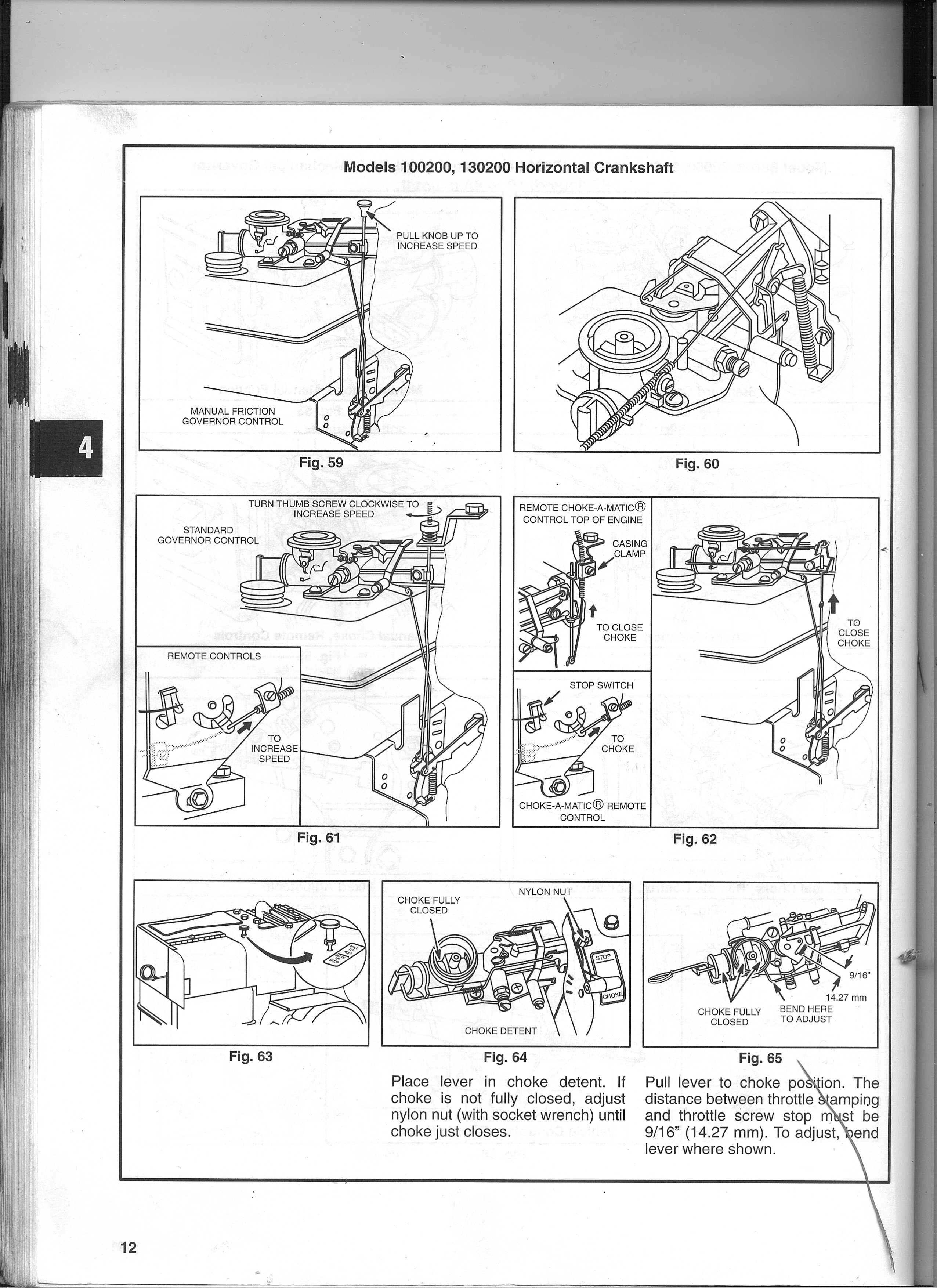 Briggs And Stratton Throttle Linkage Diagram Wiring Diagrams 11 Hp Engine I Ve Repaired My S 135202 Type 1259e1 For A Tiller Carburetor 11hp