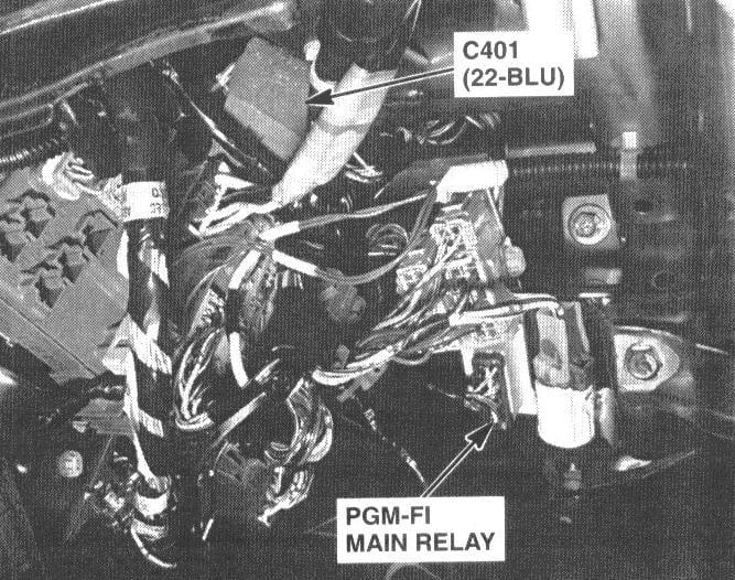 Need Location Of Main Fuel Pump Relay On 2000 Honda Accordrhjustanswer: 2000 Honda Civic Fuel Relay Location At Gmaili.net