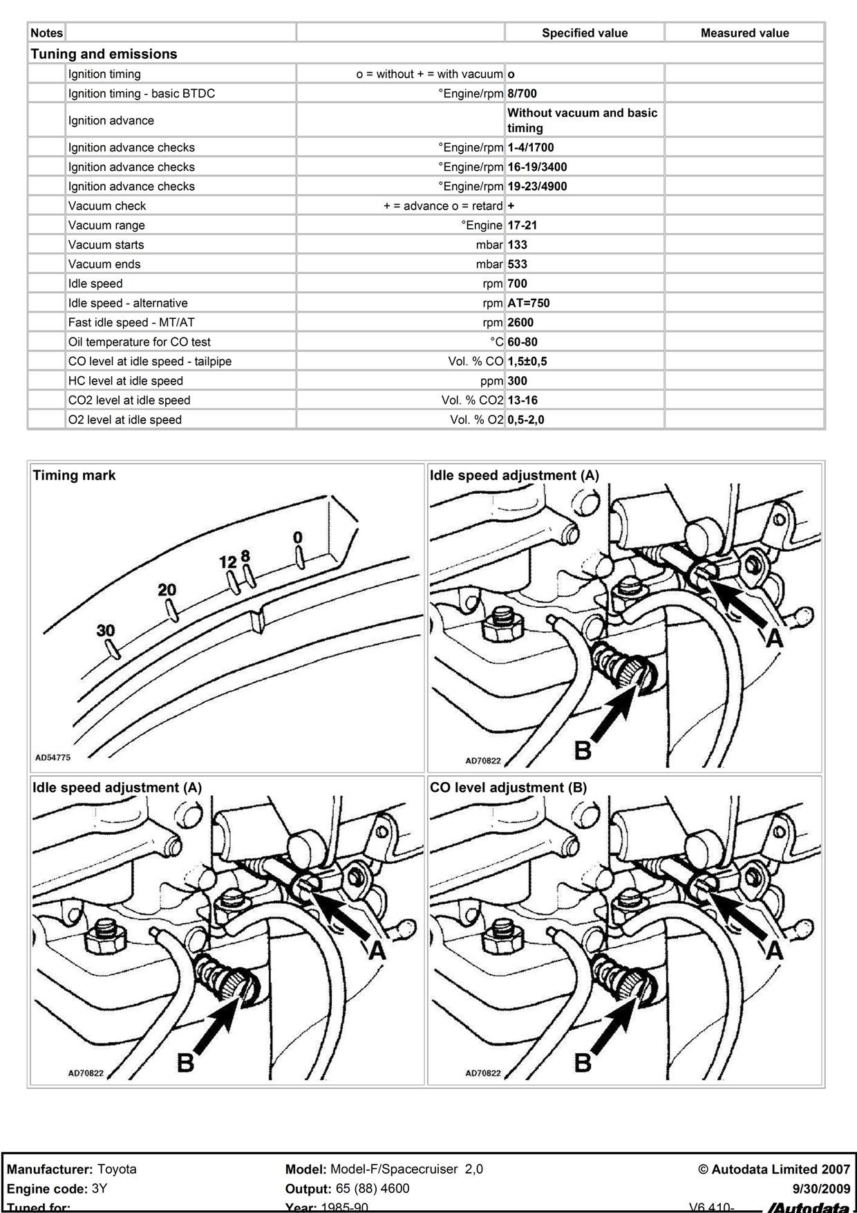 how do i adjust mixture screw on 3y e rh justanswer com Toyota Parts Diagram 2003 Toyota Camry Engine Diagram