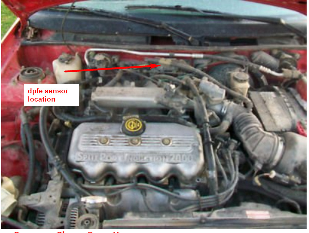 2002 ford escort service engine soon light