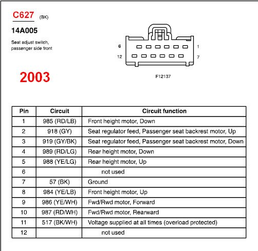 Diagram 2003 Ford Crown Vic Wiring Diagram Head Unit Wire Diagram For