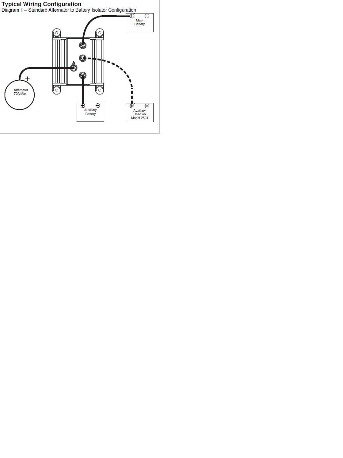 I Want To Install A Battery Isolator On 2006 Mercury 75hp Efi 4 Multi Wiring Diagram Graphic