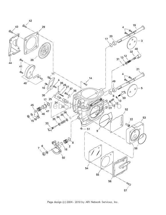 Sea Doo Carb Diagram