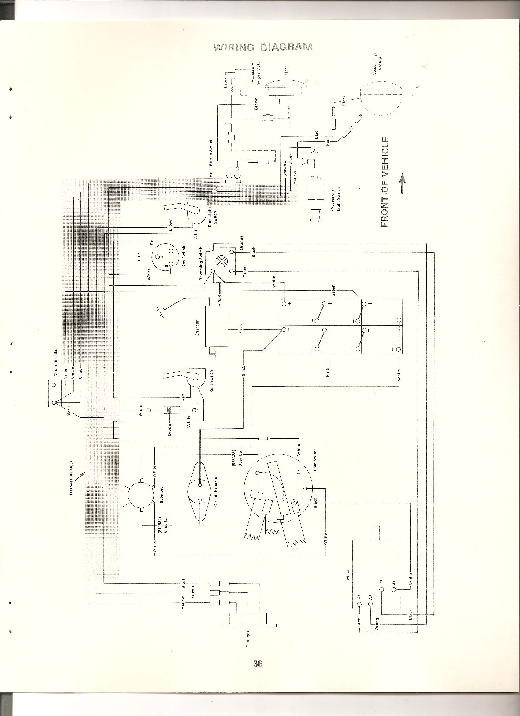 [SODI_2457]   I have a 1977 cushman model number 898322-7710....i cant find a picture or  value of this cart...i havw searched the web | Cushman Starter Wiring Diagram |  | JustAnswer