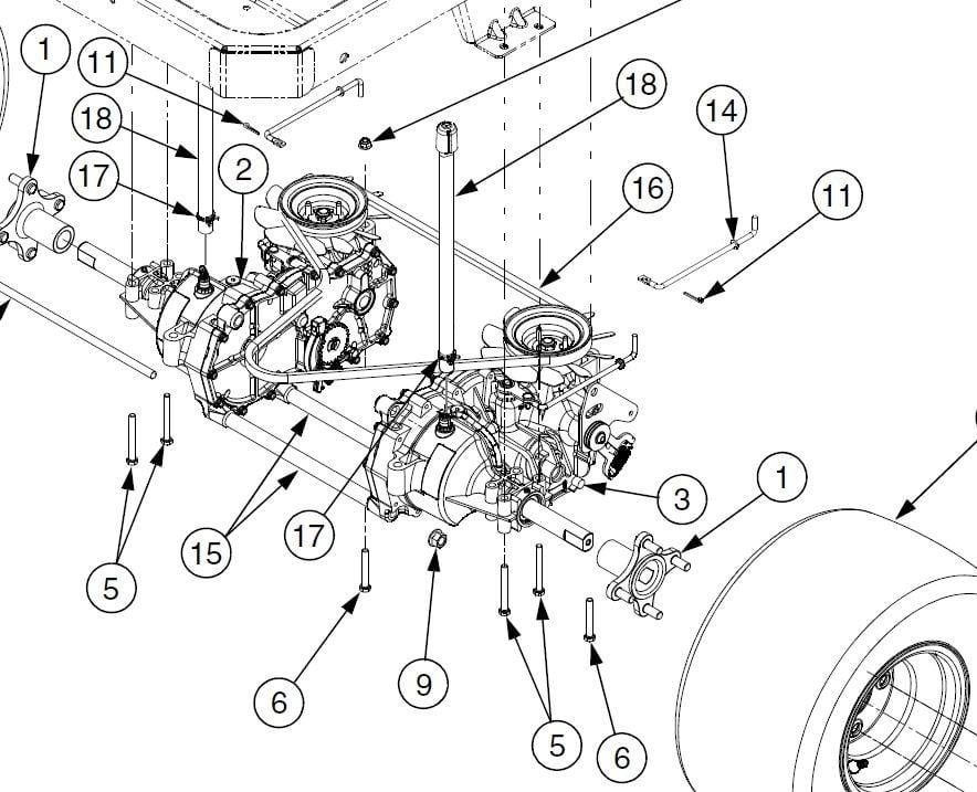 Cub Cadet Drive Belt Diagram Car Interior Design