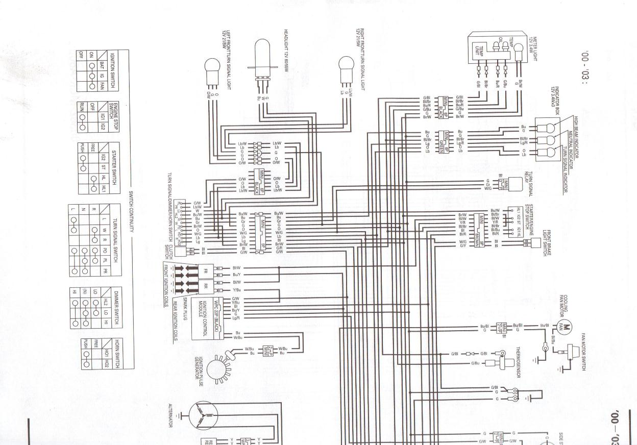 Vt1100 Wiring Diagram Browse Data Honda Reflex 1996 Shadow Vt 1100 Schema Diagrams Basic 2001