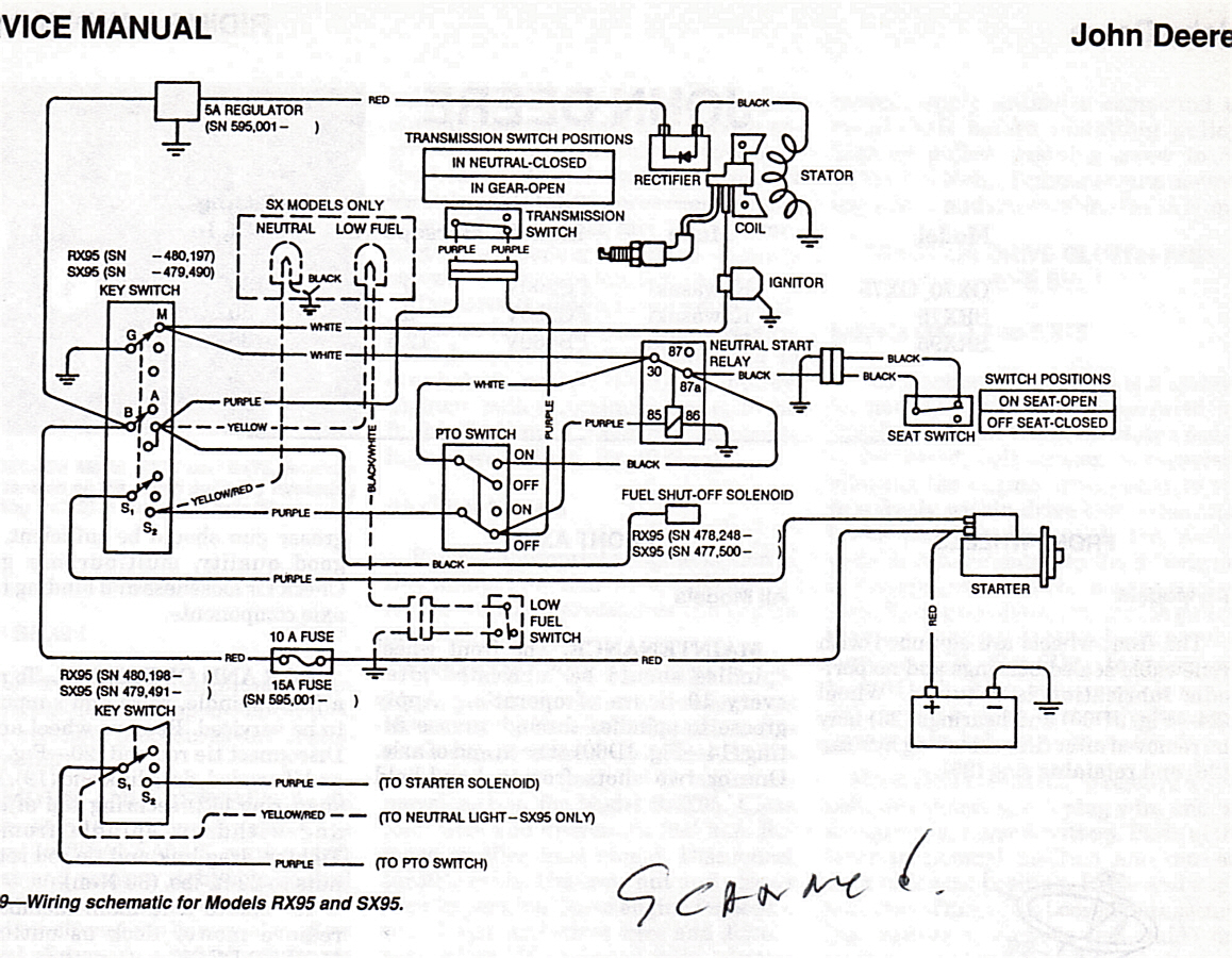 Wiring Diagram For 2005 Ford 500 Free You Kohler Electrical Schematic I Have A Deere Body Mower With Craftsman Engine Ranger