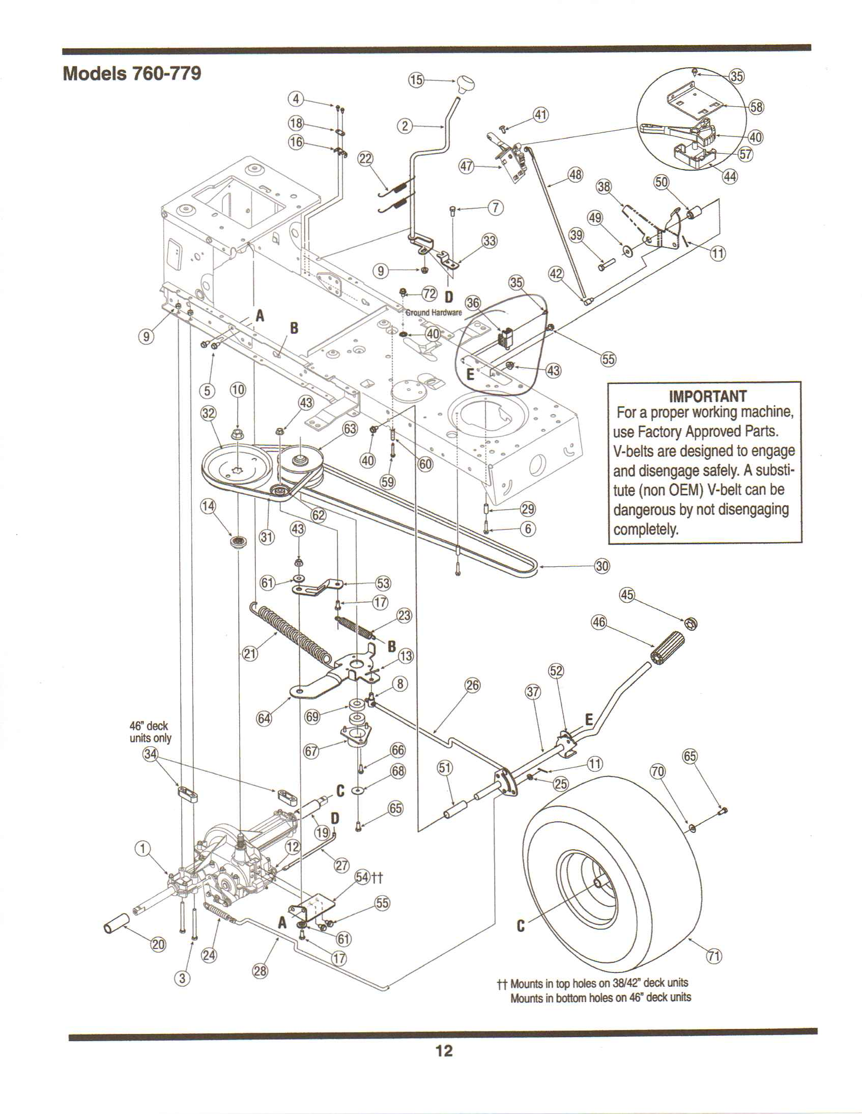 John Deere S92 Wiring Diagram : Model mtd riding mower started fine after sitting all