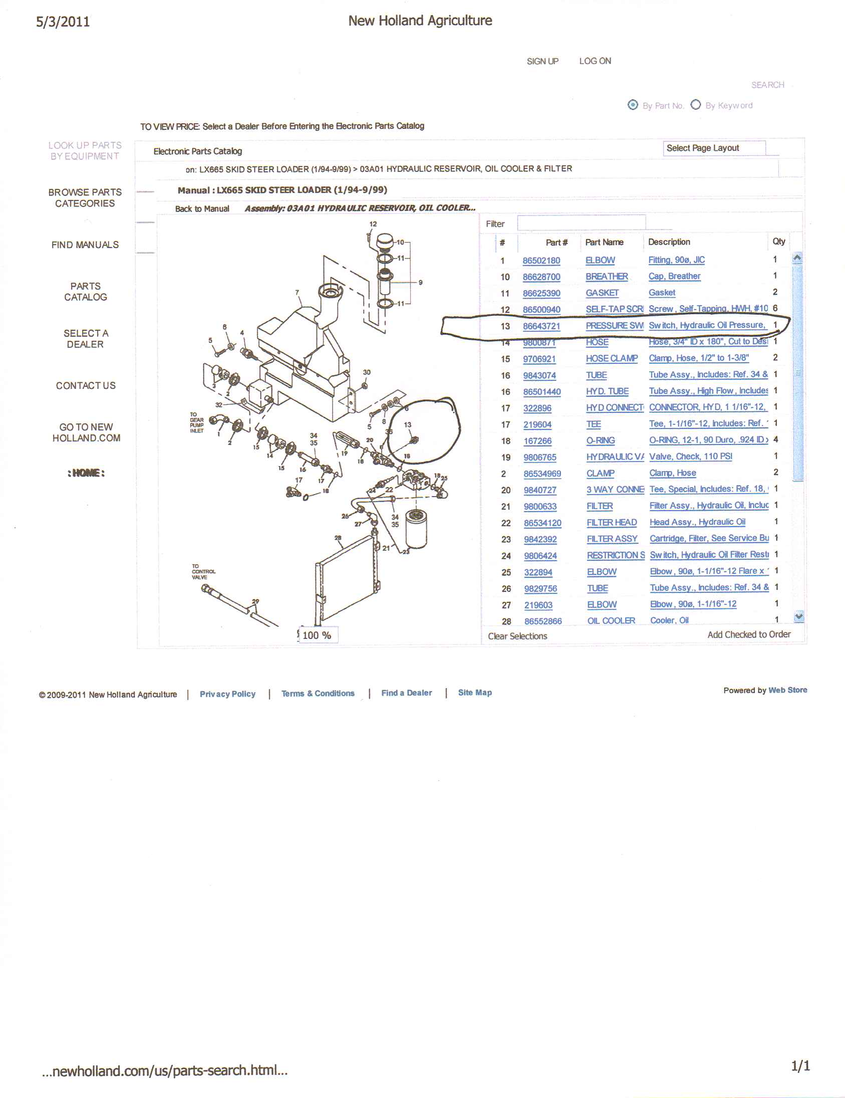 2011 05 03_124136_lx665_oil_pressure_sender new holland lx665 wiring diagram gandul 45 77 79 119 New Holland C185 at readyjetset.co