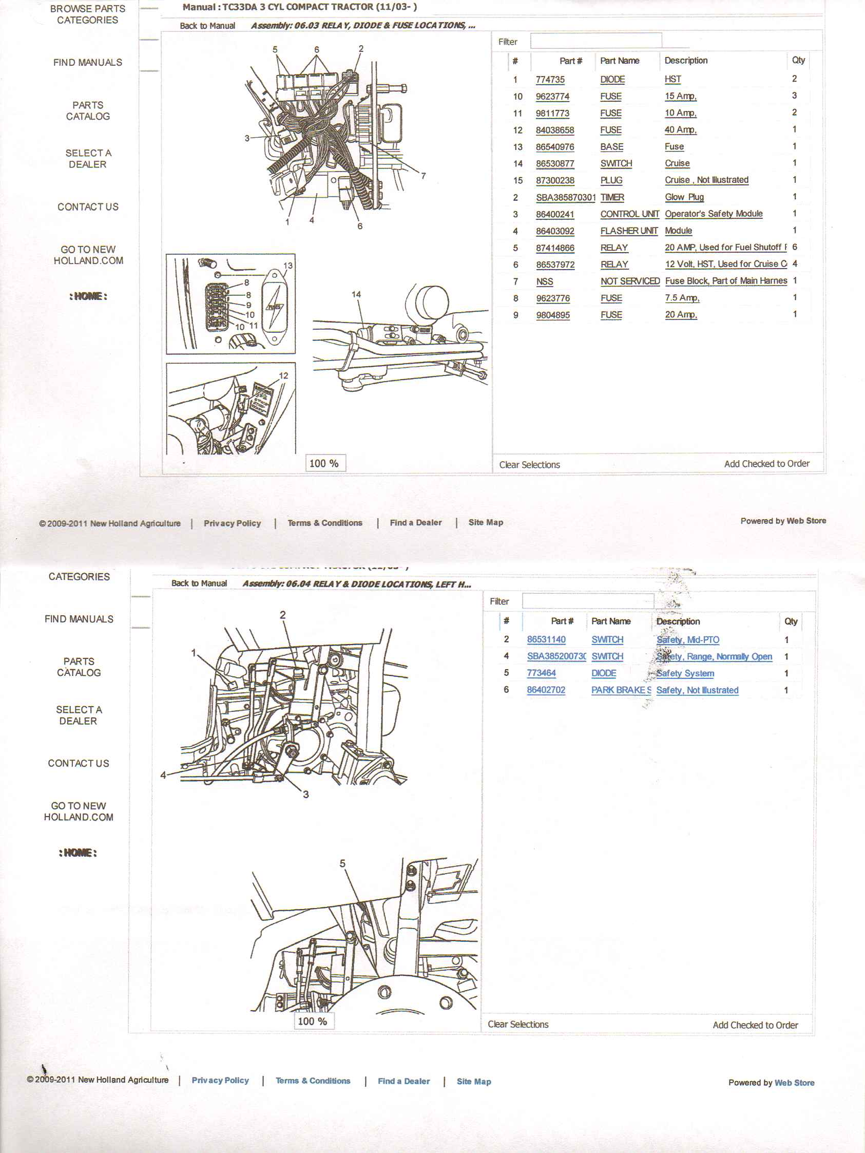 new holland l185 wiring diagram