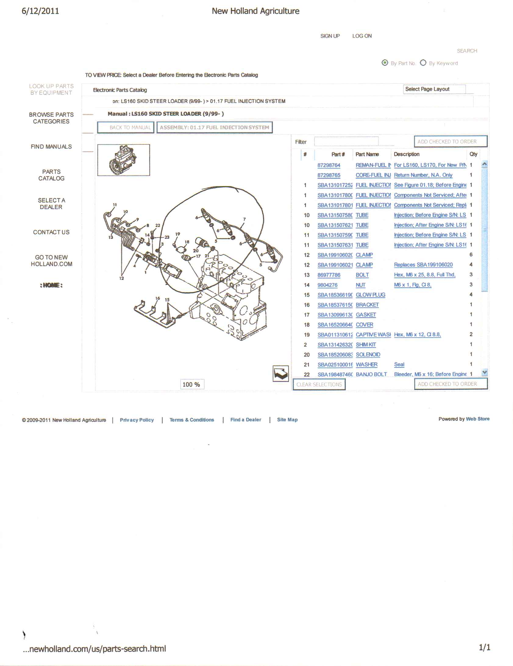 Takeuchi Tl140 Solenoid Wiring Diagram Diagrams Scematic Starter On 5205 John Deere Parts Library New Holland L180 I Have A 2000