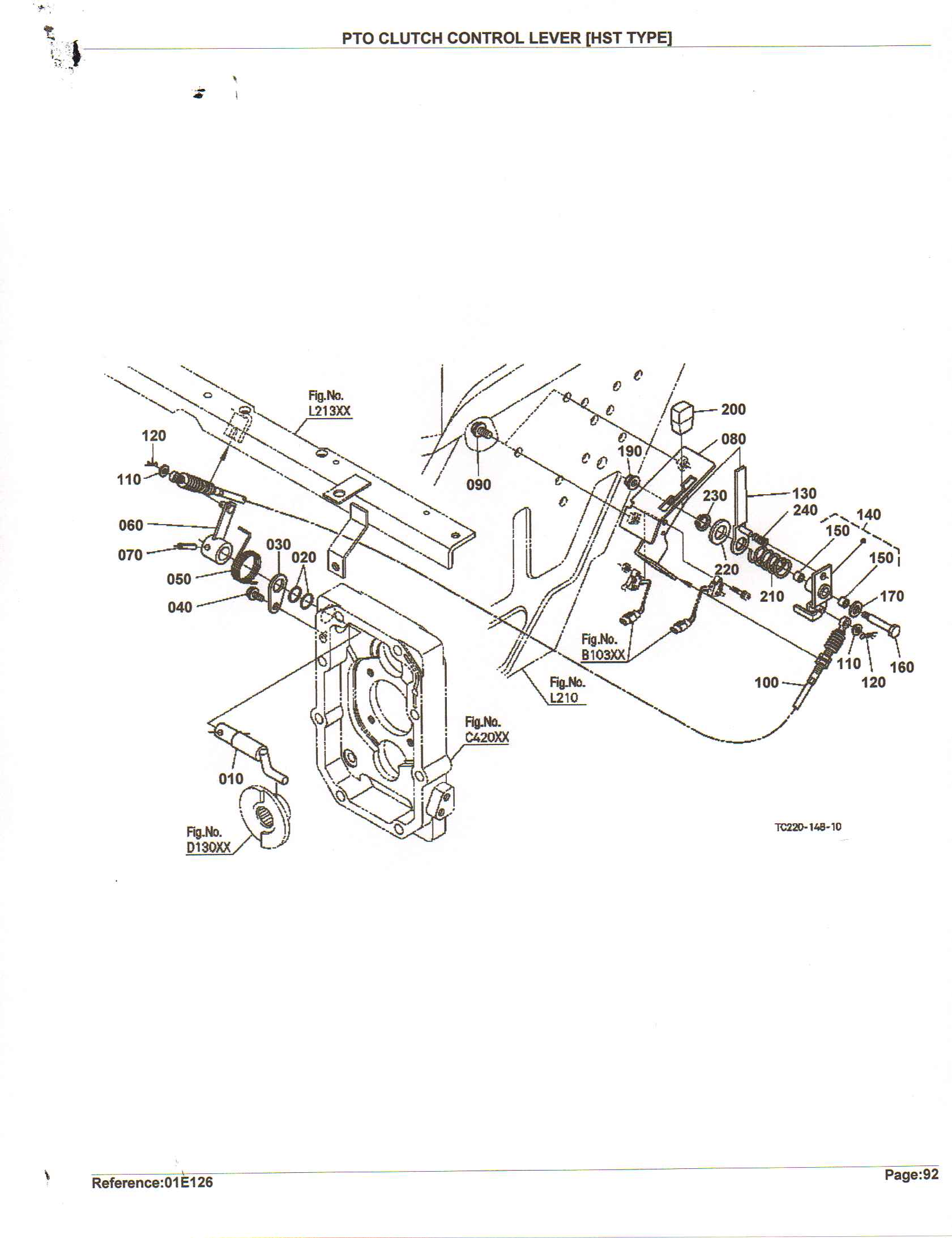 Kubota L2800 Tractor Parts Diagram Com