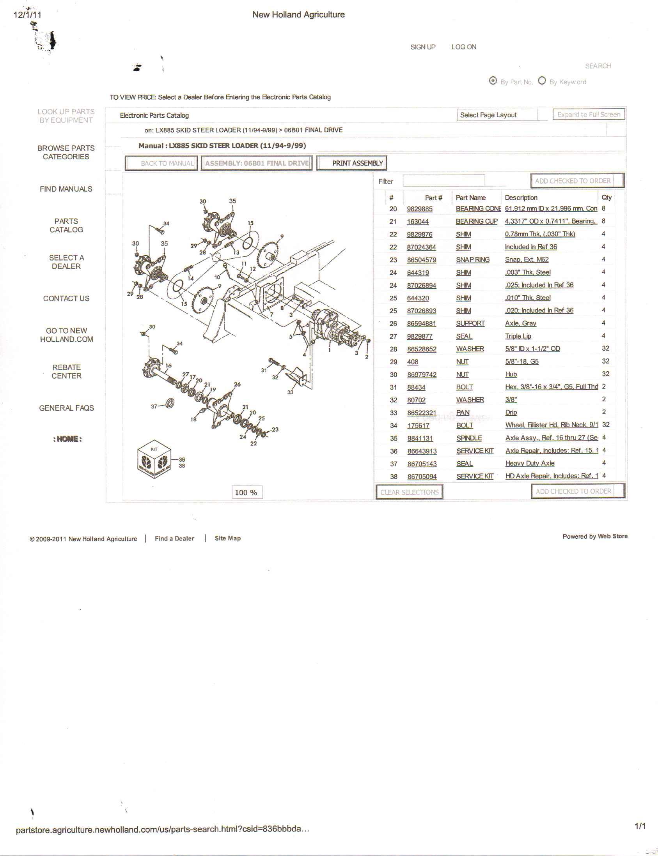 lx885 wiring diagram