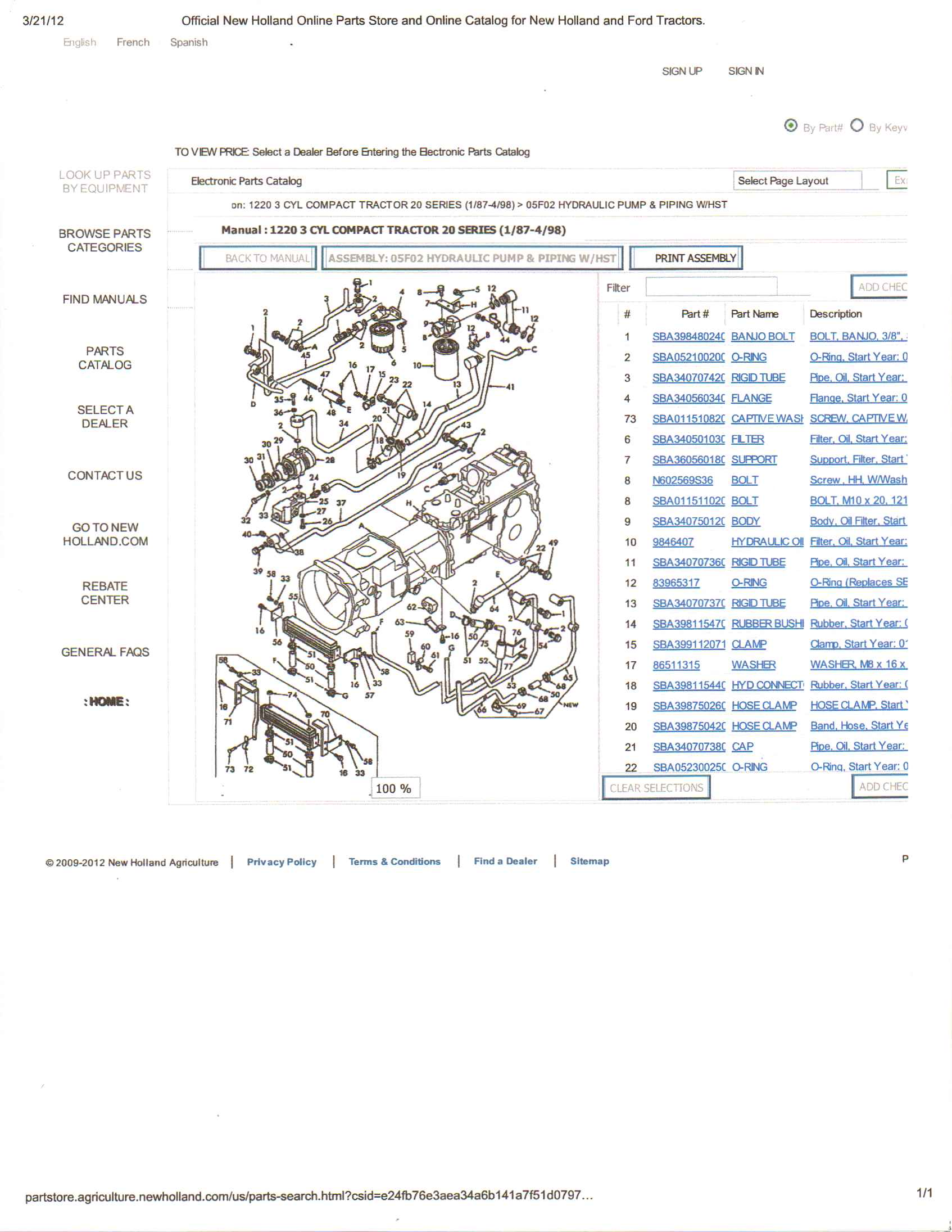 Ford 1220 Tractor Parts Diagram Trusted Wiring 1210 U2022