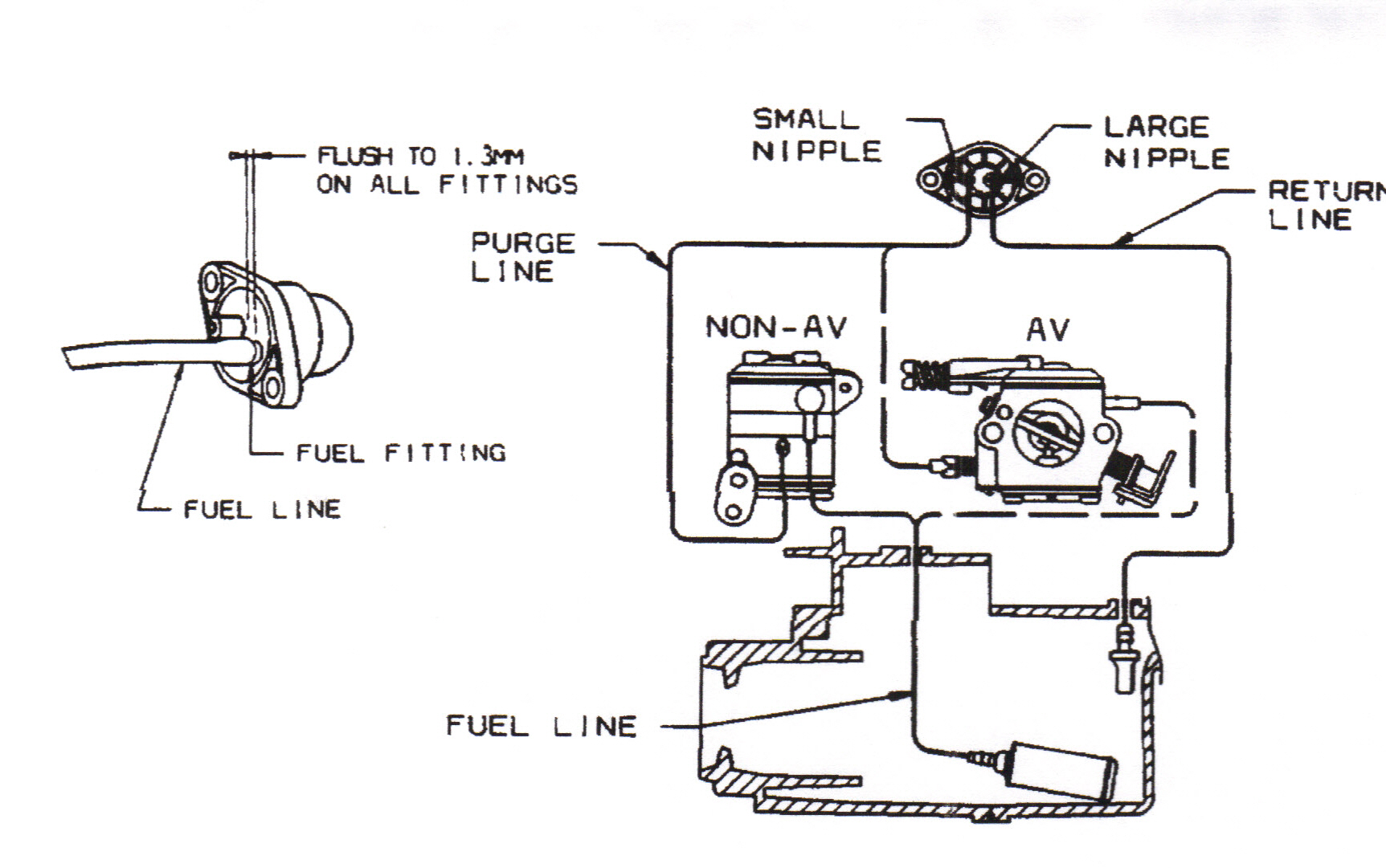 Weed Eater Fuel Line Diagram Wire Data Schema 19962000 Toyota Rav4 Reese Tconnector Wiring Harness 78025 Need A For Bc2400 Thanks Dan Rh Justanswer Com Stihl