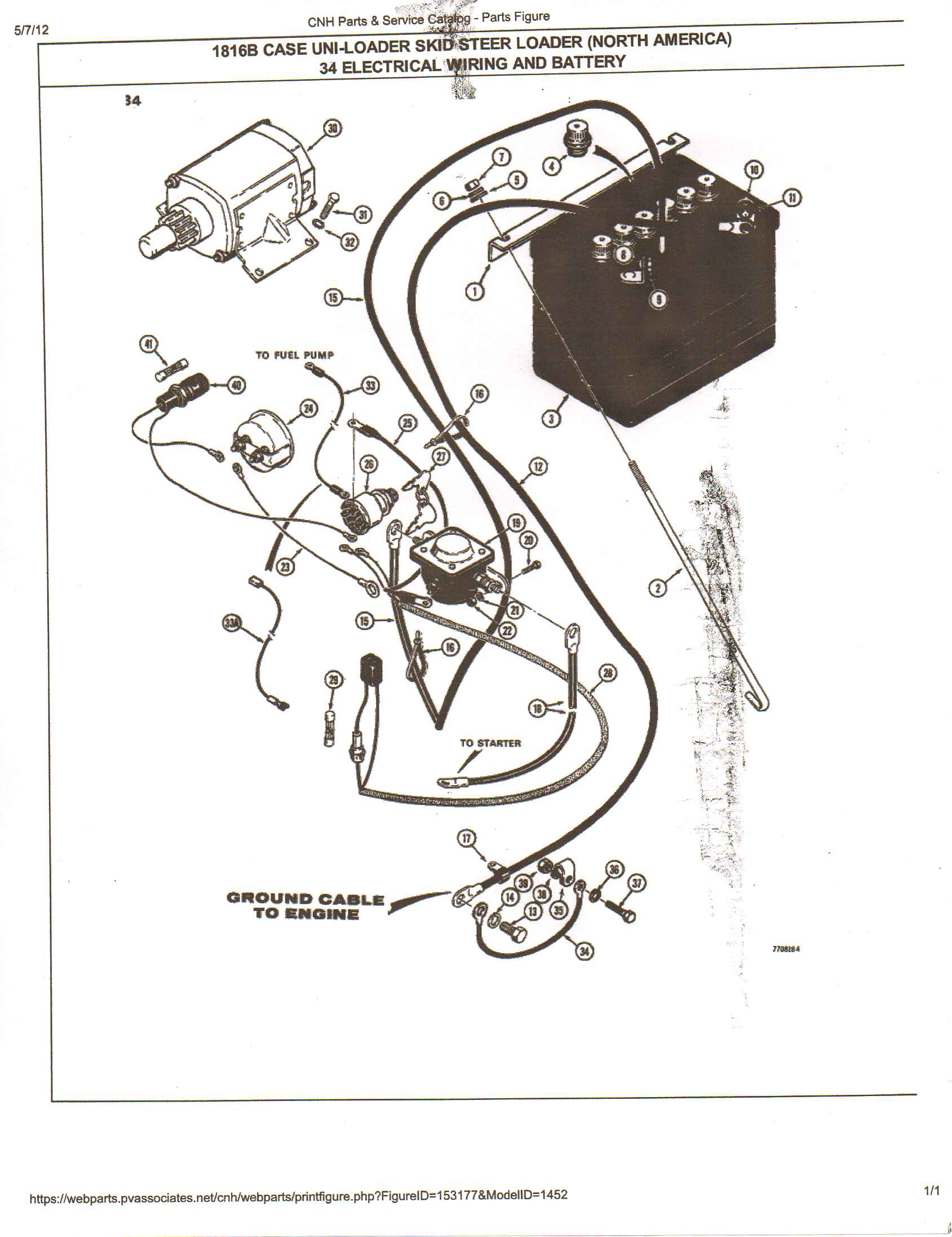 I Need A Wiring Diagram For An 1816b Case Skidsteer  Any