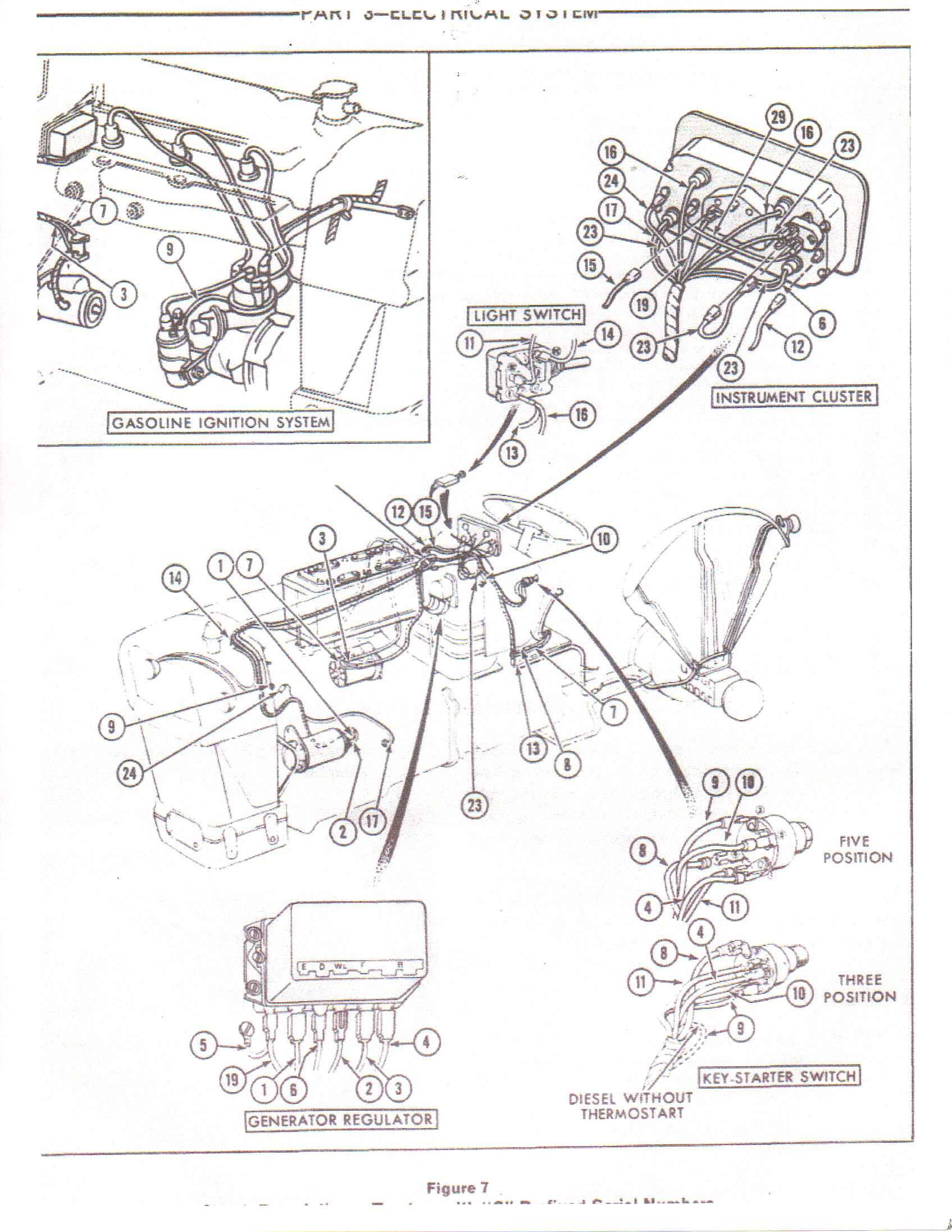 having trouble finding wire harness for a 1973 ford 3000