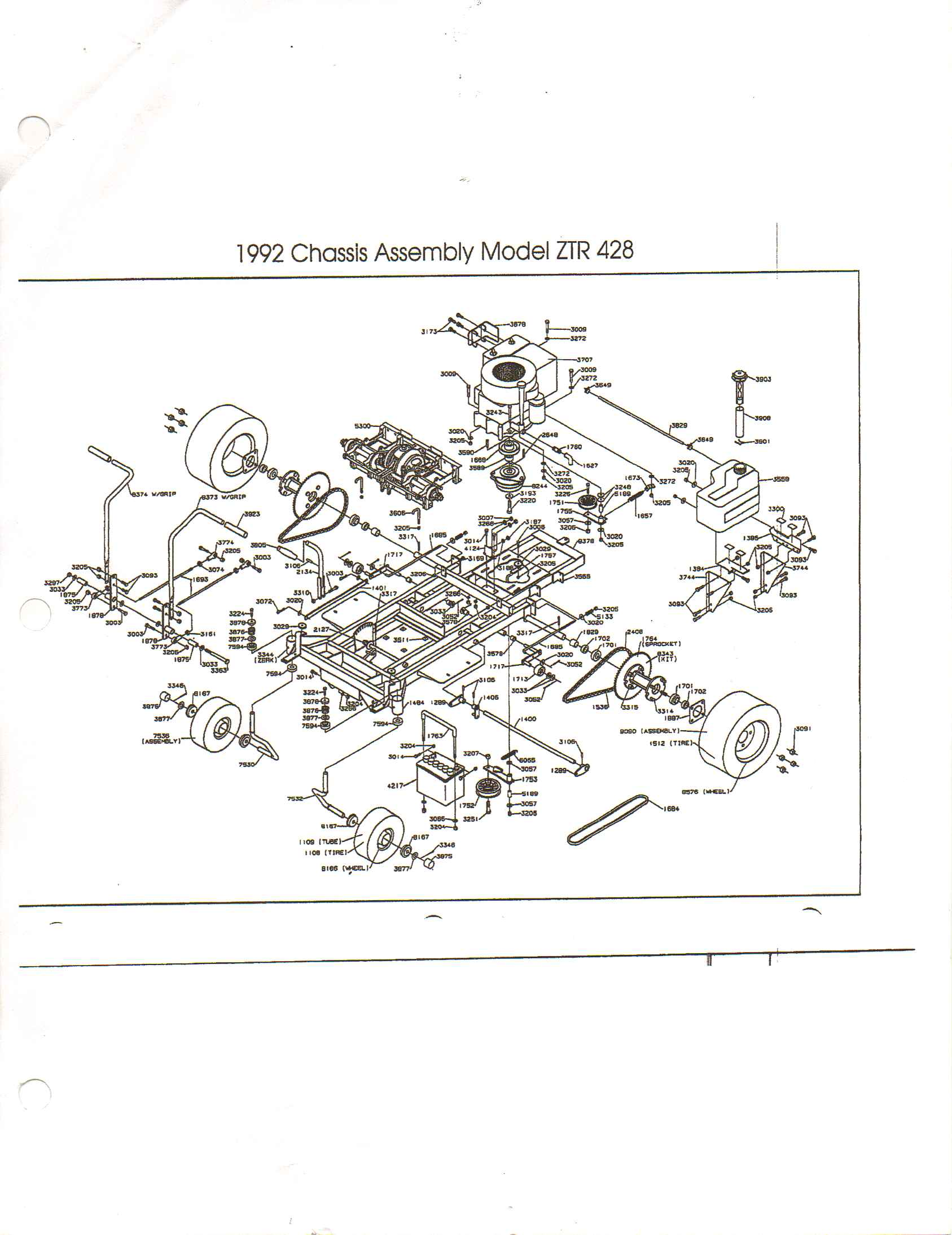 I have a Dixon ZTR 4000 series With a Briggs Stratton 155 HP – Dixon 428 Wiring-diagram