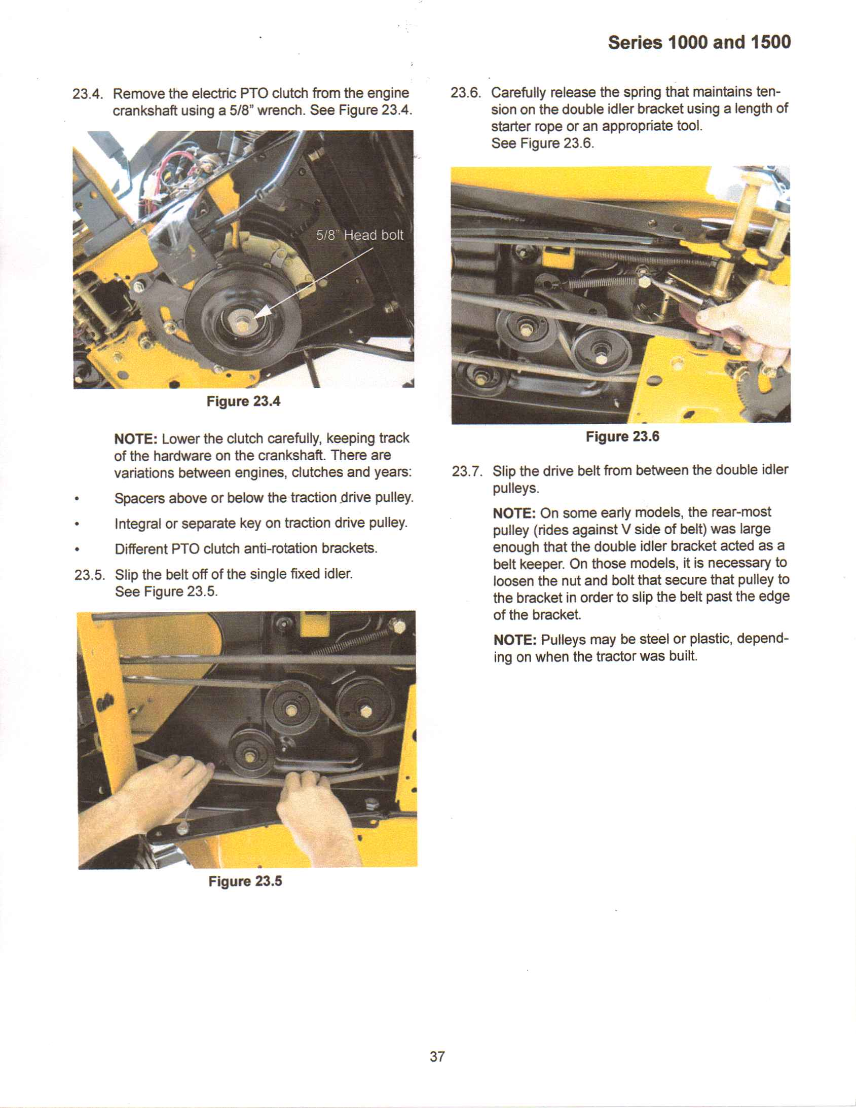 Why Does The Electric Clutch Disengage After Running Only A Few Cub Cadet Lt1045 Wiring Diagram Full Size Image
