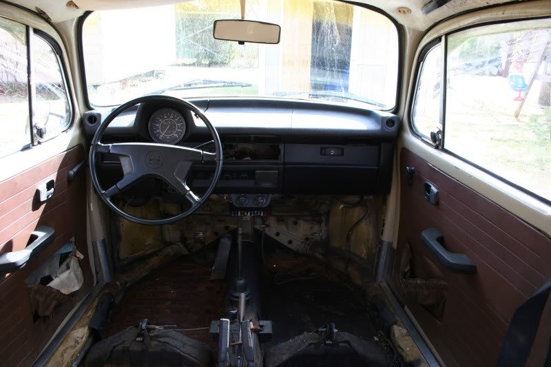 I am trying to remove the front seats from a 1974 vw for 1974 super beetle floor pans
