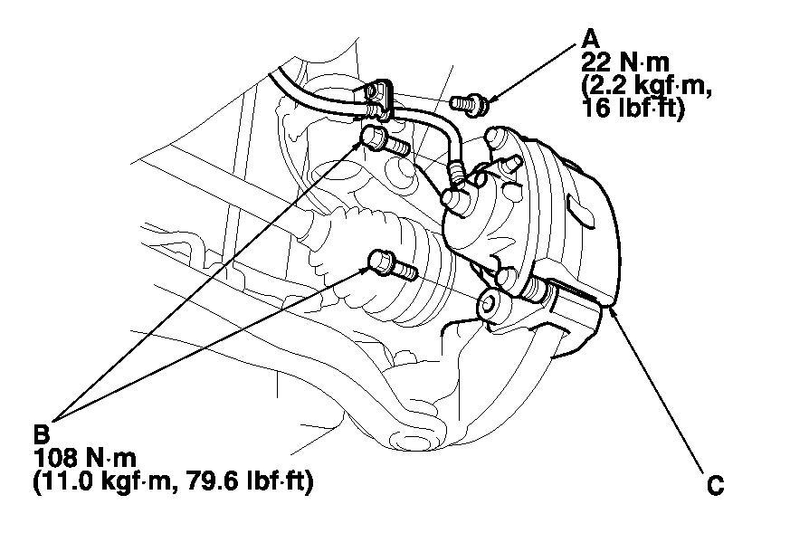 Honda: front wheel hub (that has wheel studs- one stripped)..stud