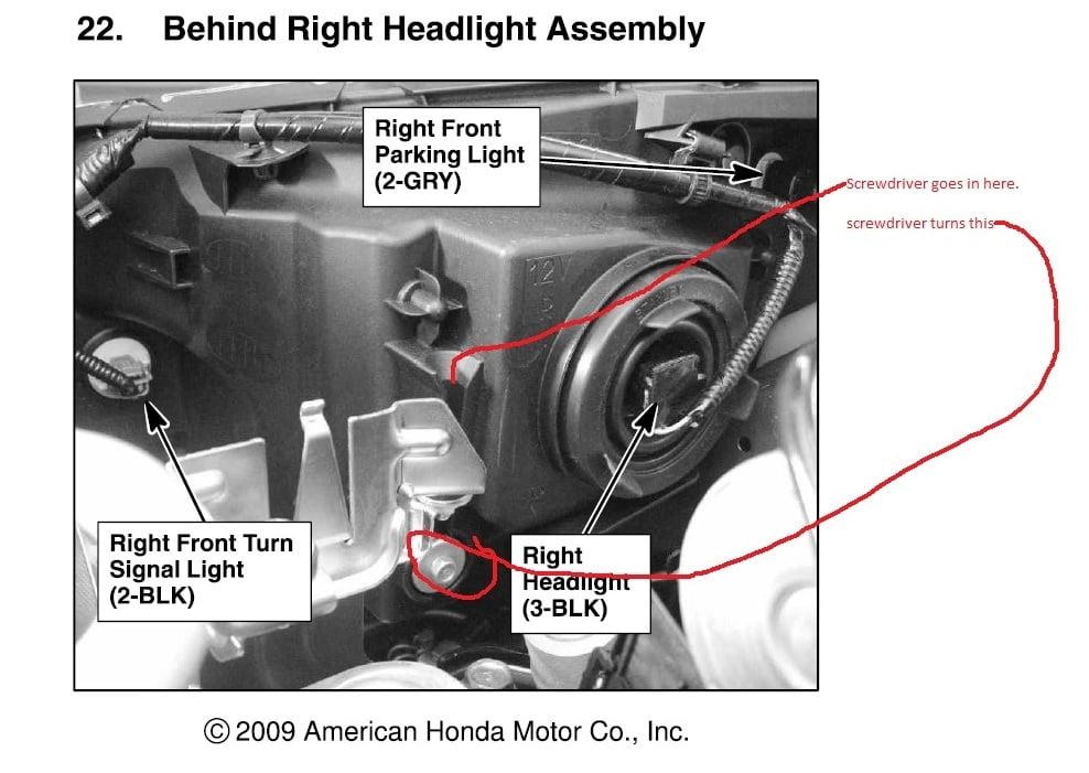 2007 honda accord headlight diagram hyundai santa fe