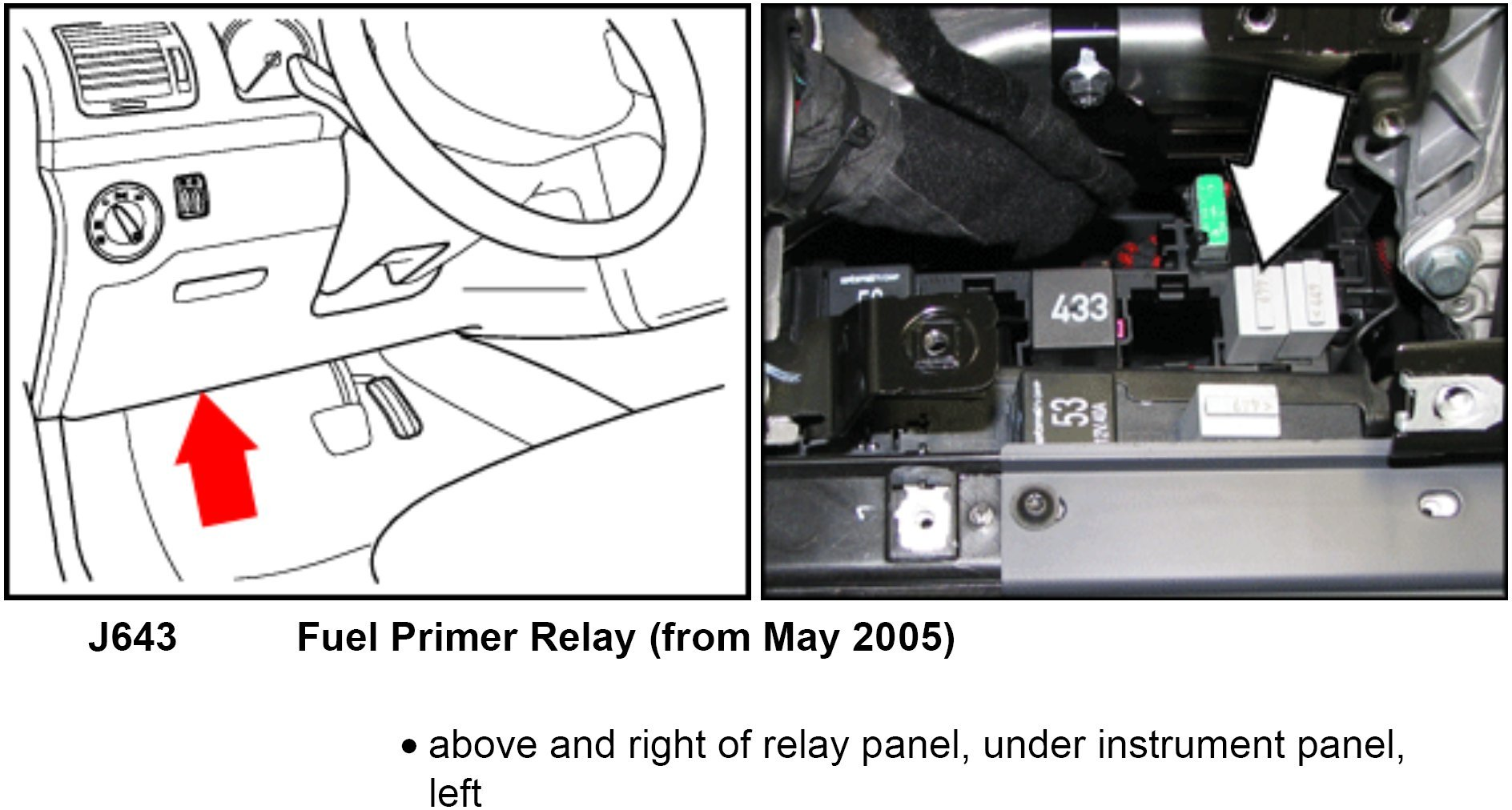 where is the fuel pump relay located in the 2010 vw jetta all i rh justanswer com vw fuel pump parts jetta fuel system diagram